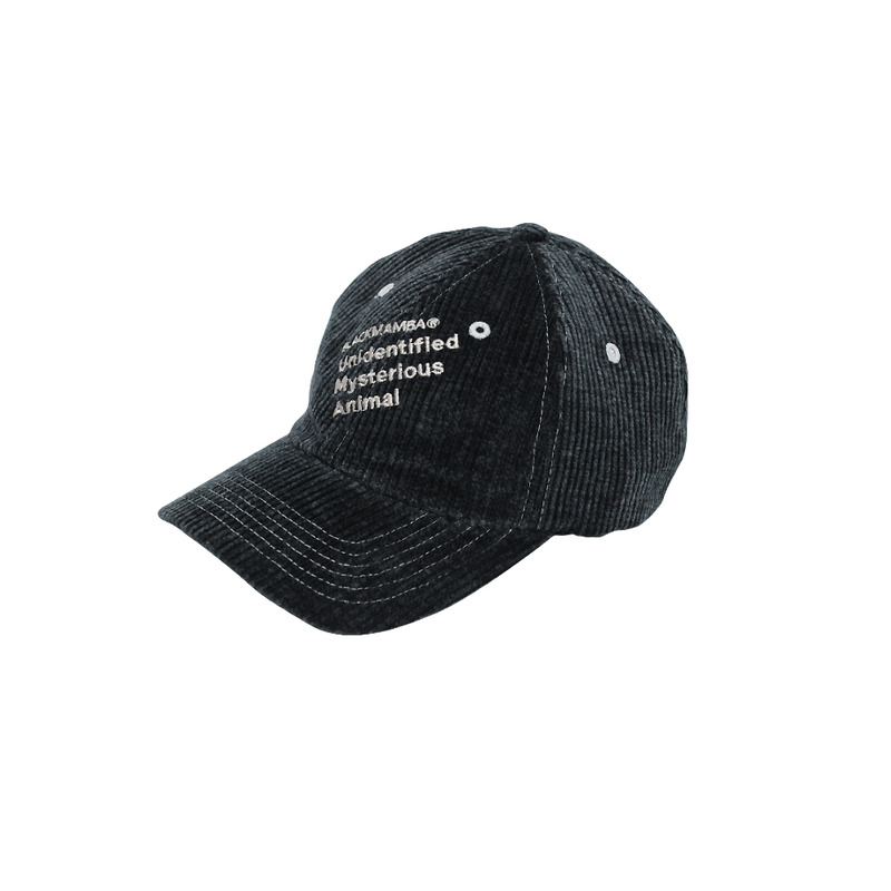 Slash corduroy Cap [BLACK Olive]
