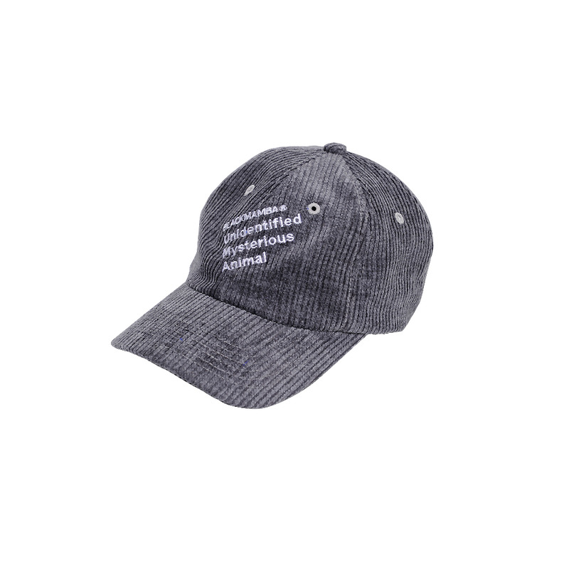 Slash corduroy Cap [GRAY]